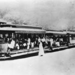 Trolley at Averill Park Station - Near 1908 Teal Pond Murder of Hazel Drew