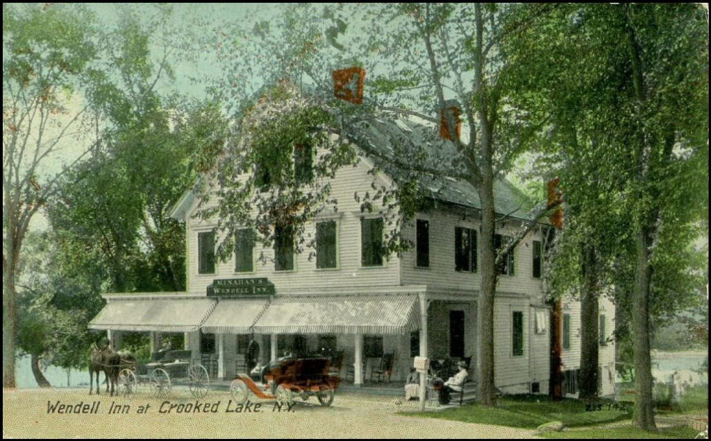Wendell Inn 1908 - Now The Crooked Lake House in Sand Lake, NY