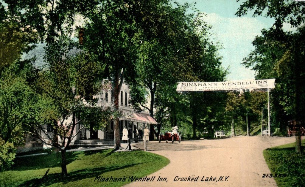 Crooked Lake House 1910 - Was Minahan's Wendell Inn