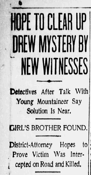 Hazel Drew Murder Mystery