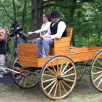 Shooting Period Reenactment - John Holser Productions -Wagon